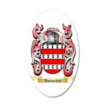 Varvarkin 20x12 Oval Wall Decal