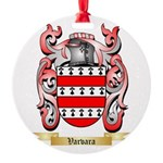 Varvara Round Ornament