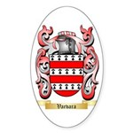 Varvara Sticker (Oval)