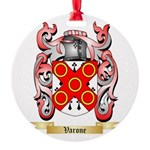 Varone Round Ornament