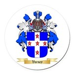 Varney Round Car Magnet