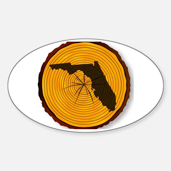 Unique Timber Sticker (Oval)