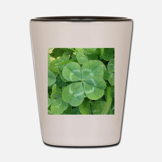 Unique Clover Shot Glass