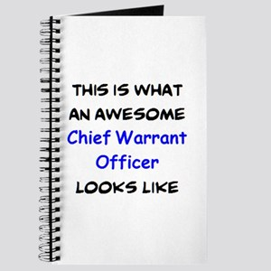 awesome chief warrant officer Journal