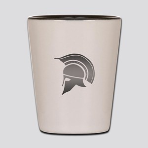 Ancient Greek Spartan Helmet Shot Glass
