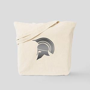 Ancient Greek Spartan Helmet Tote Bag