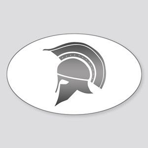 Ancient Greek Spartan Helmet Sticker