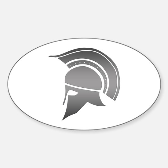 Ancient Greek Spartan Helmet Decal