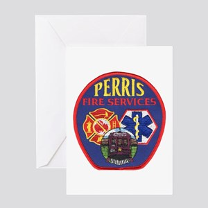 Perris Fire Services Greeting Card