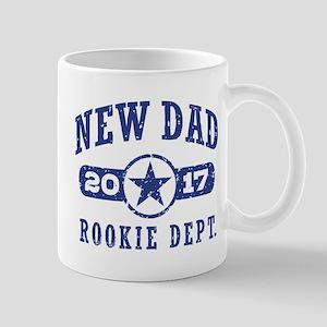 Rookie New Dad 2017 Mug