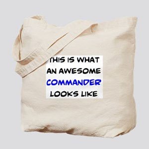 awesome commander Tote Bag