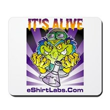 Labby the Lab Tech Mousepad