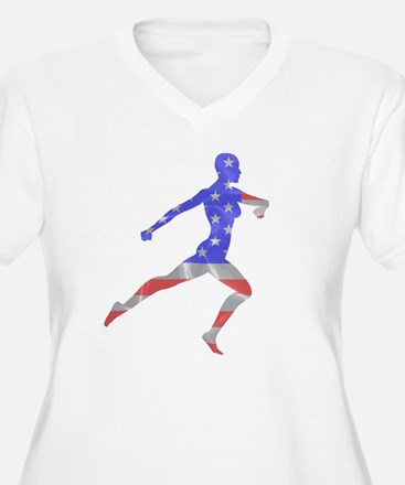 Unique Female runners T-Shirt