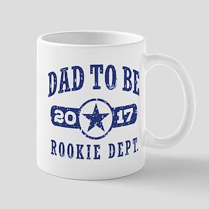 Rookie Dad To Be 2017 Mug