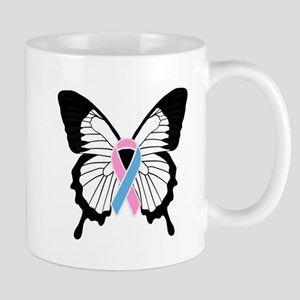Butterfly with Pregnancy and Infant Loss Awar Mugs