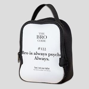 Bro Neoprene Lunch Bag