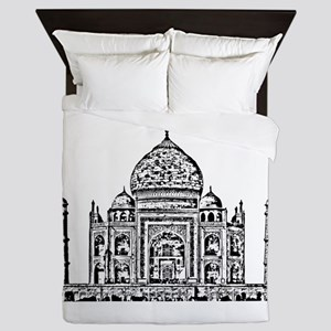 Taj Mahal design art Queen Duvet