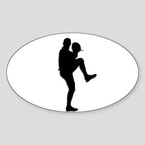 Baseball Pitcher Sticker