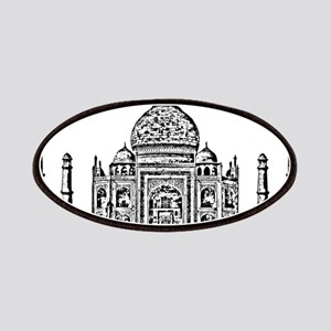 Taj Mahal design art Patch