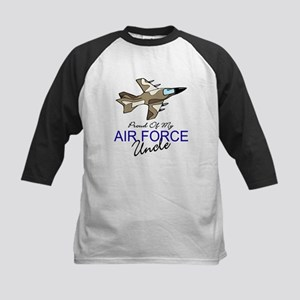 Air Force Uncle Kids Baseball Jersey