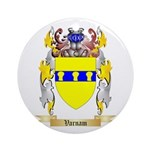 Varnam Round Ornament
