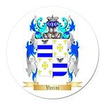 Varini Round Car Magnet