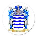 Vargas Round Car Magnet