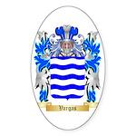 Vargas Sticker (Oval)
