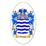 Vargas Sticker (Oval 50 pk)