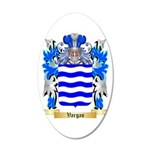 Vargas 20x12 Oval Wall Decal