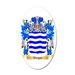 Vargas 35x21 Oval Wall Decal
