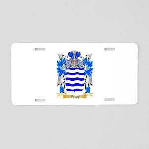 Vargas Aluminum License Plate