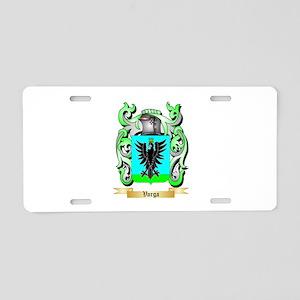 Varga Aluminum License Plate