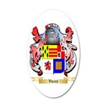 Varey 20x12 Oval Wall Decal