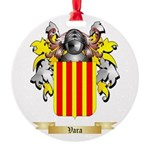 Vara Round Ornament