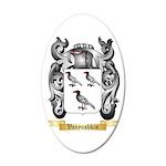 Vanyushkin 20x12 Oval Wall Decal