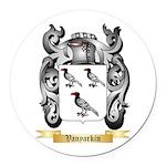 Vanyarkin Round Car Magnet