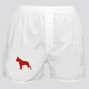 Boston Terrier Red 1 Boxer Shorts
