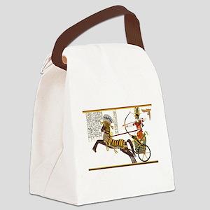 Ramses ii in the battle of kadesh Canvas Lunch Bag