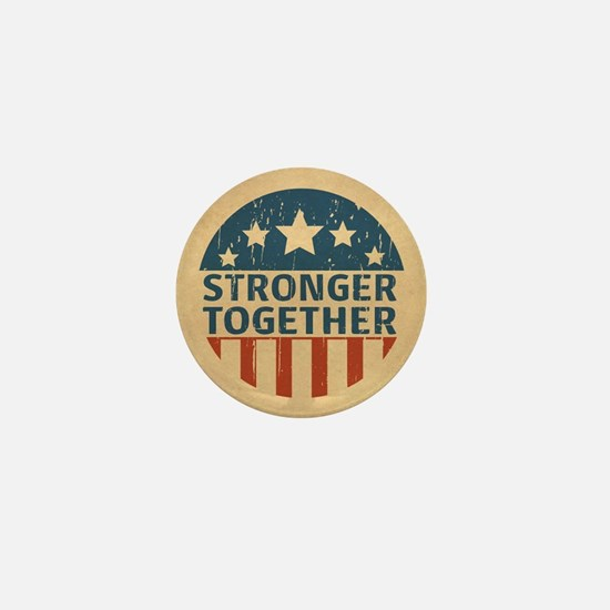 Stronger Together Mini Button