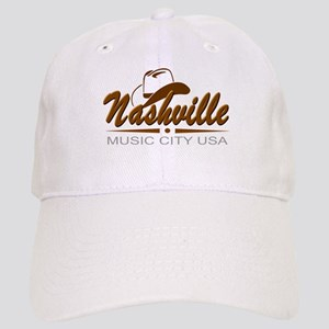 Nashville Music City USA-02 Baseball Cap