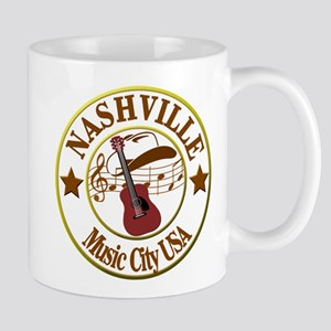 Nashville Music City USA-LT Mugs