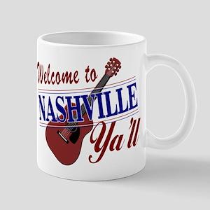 Welcome to Nashville Ya'll-01 Mugs
