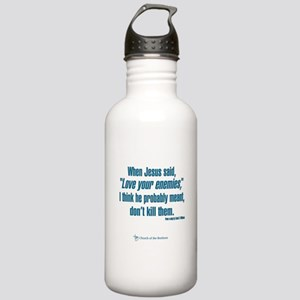 """When Jesus said """"Love Stainless Water Bottle 1.0L"""