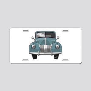 1940 Ford Truck Aluminum License Plate
