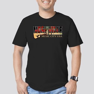 Nashville Music City-BLK T-Shirt