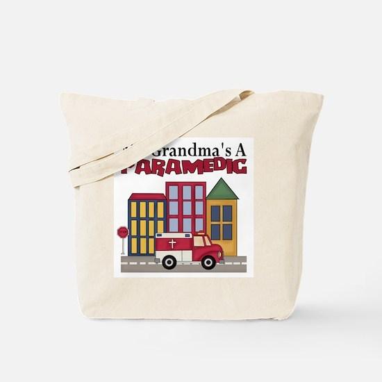 My Grandma's A Paramedic Tote Bag