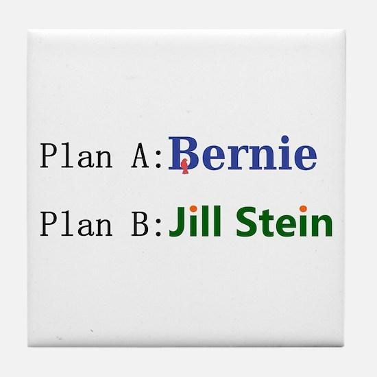 Plan B Tile Coaster