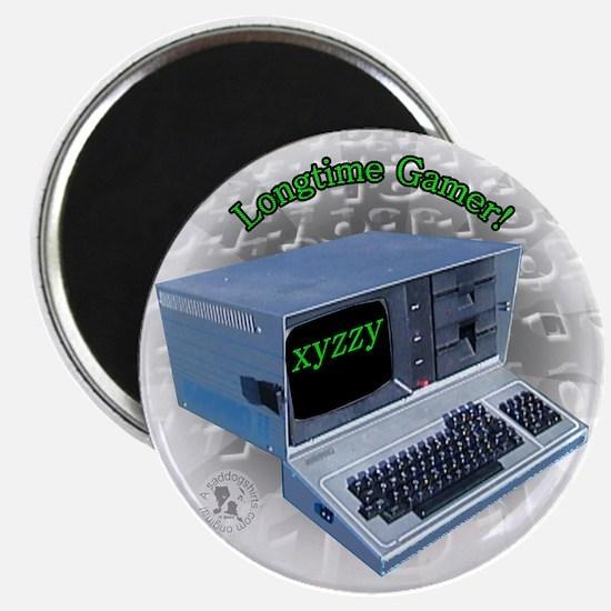"""Longtime Gamer 2.25"""" Magnet (10 pack)"""