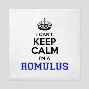I can't keep calm Im ROMULUS Queen Duvet